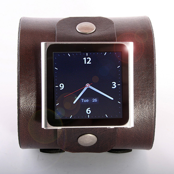 Rugged iPod Nano Wristband