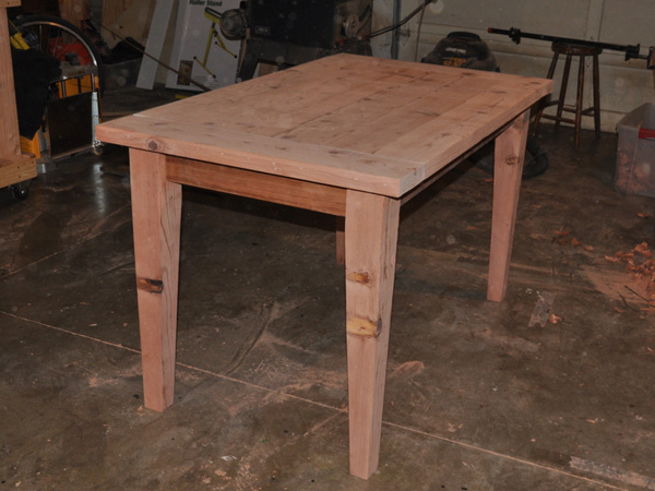 Build a Simple, Sturdy Wooden Table
