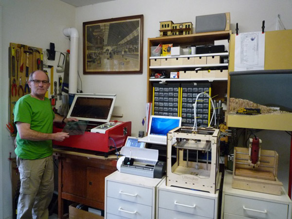 Mini Home Fab Lab for Around 00