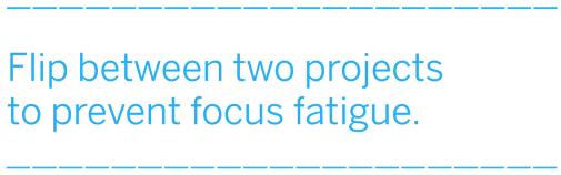 The Art of Productive Procrastination