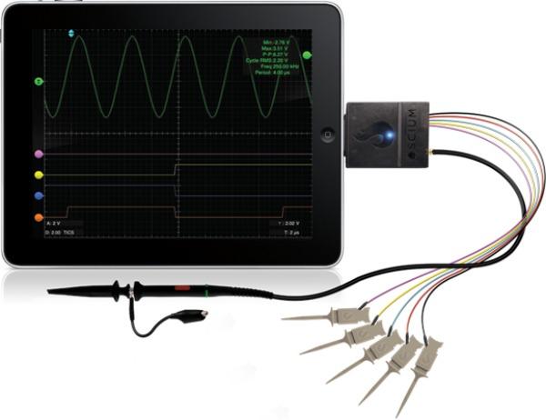 Turn Your iOS Device into an Oscilloscope