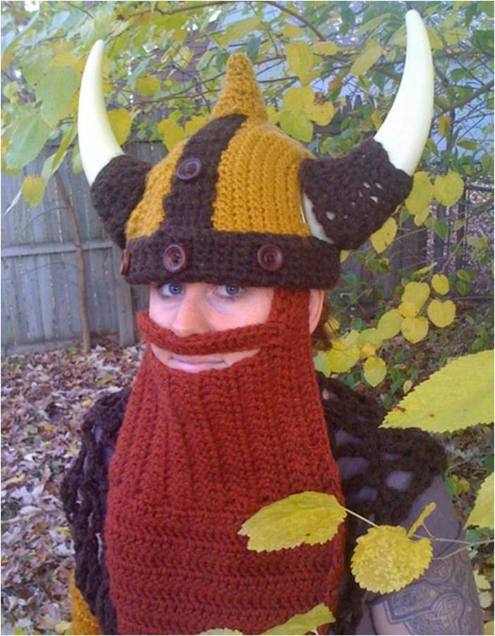 Crochet Viking Costume
