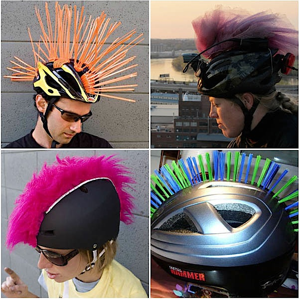 How-To: Helmet Mohawks