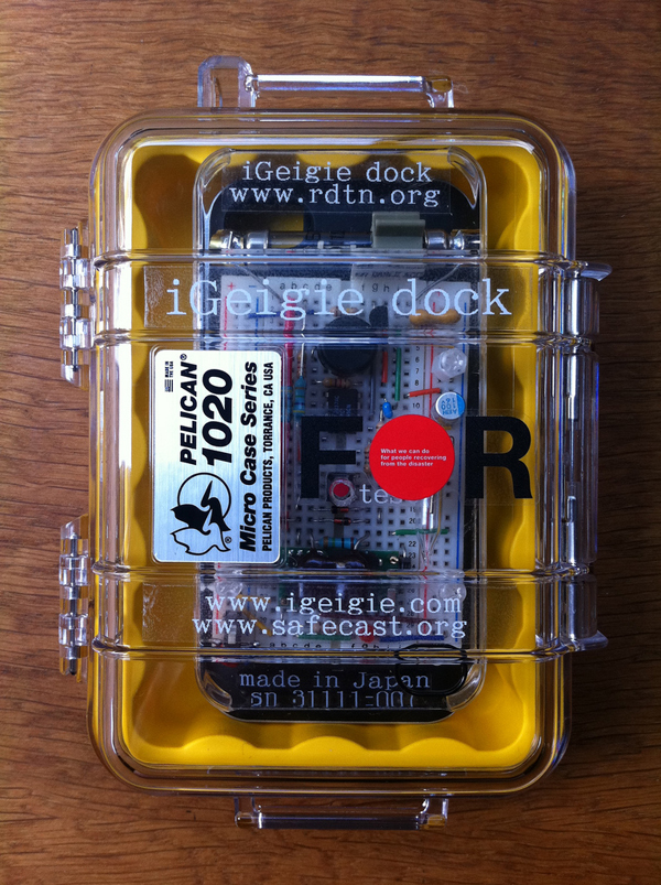 iGeigie, an iPhone-Connected Geiger Counter