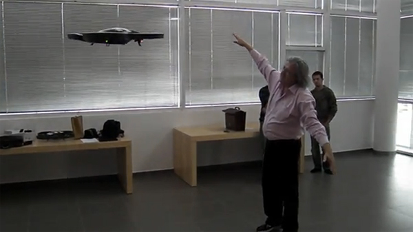 Kinect Controlled AR Drone