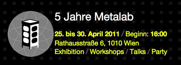 Hackerspace Happenings: Metalab Turns 5