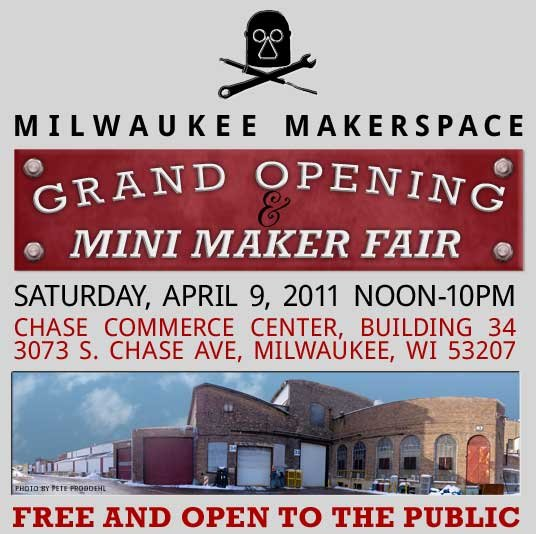 Milwaukee Makerspace Grand Opening Party