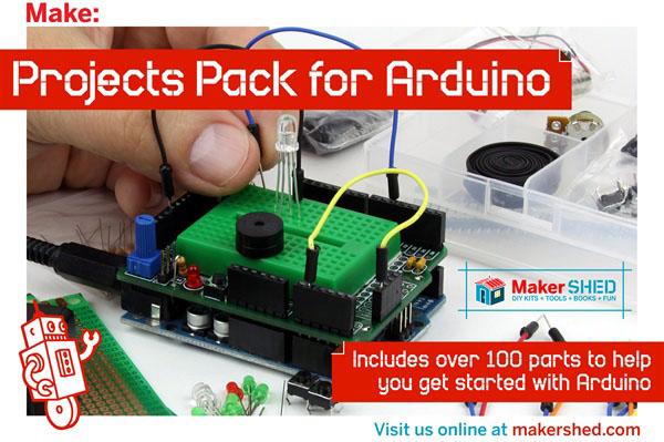Make: Arduino Giveaway!