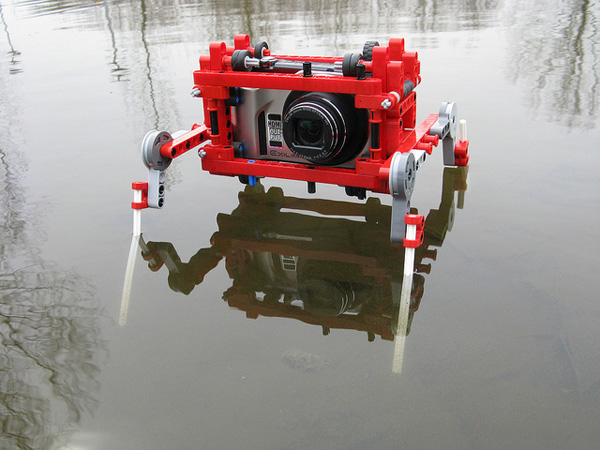Lego Quadpod for an All-Terrain Camera