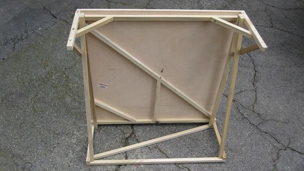 Standing desk prototype #1