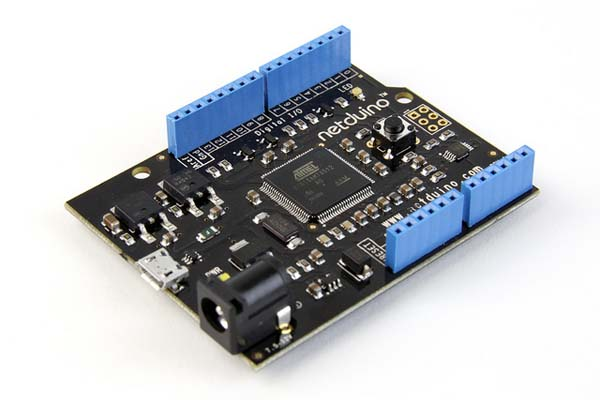 In the MakerShed: Netduino