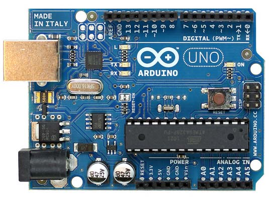 In the Maker Shed: Arduino Uno