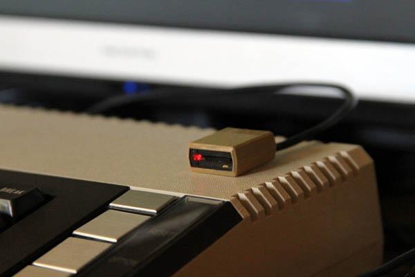 MicroSD Drive Poses As Mini Atari 810 Floppy