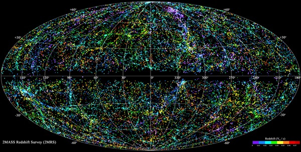 Astronomers Unveil Most Complete 3-D Map of Local Universe