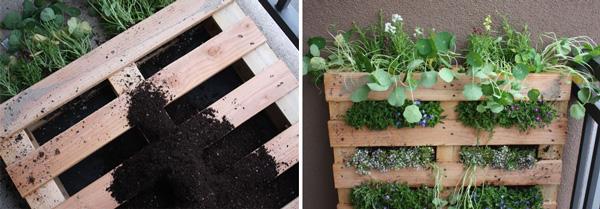 How-To: Vertical Pallet Garden