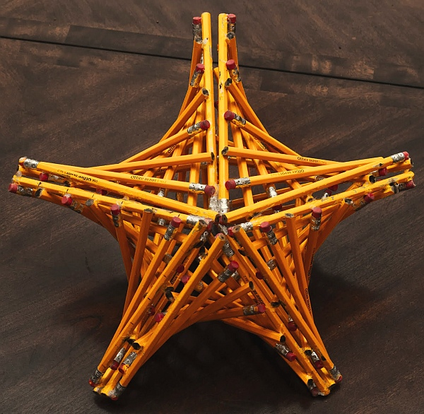 Math Monday: How to Make a Pencil Star