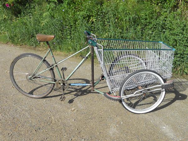 Shopping Cart Cargo Bike