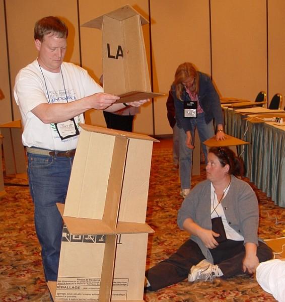 Math Monday: Cardboard Catenary Arches