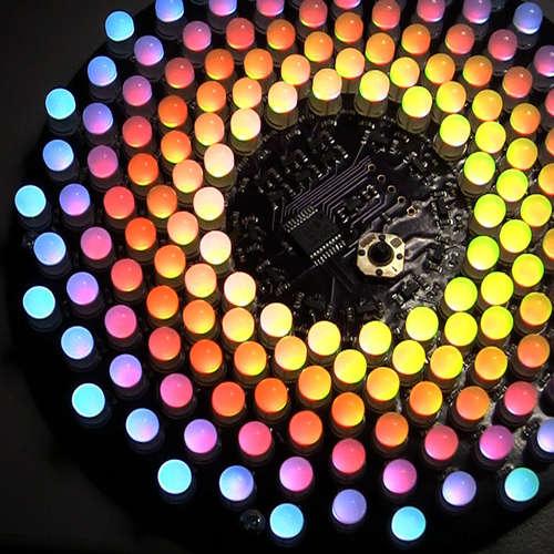Lovely Radial LED Matrix