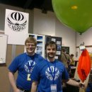 Near space balloon launch today at Mini Maker Faire North Carolina