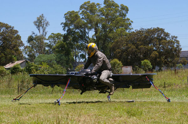 Hover Bike Prototype is Dubious, Awesome