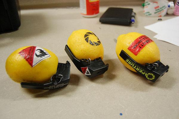 Lemon Hand Grenades