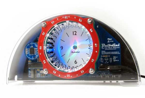 In the Maker Shed: Bulbdial Clock Kit