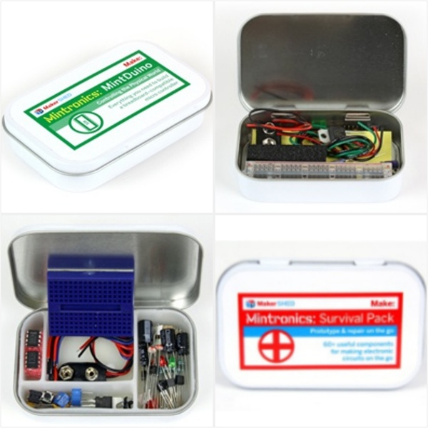 In the Maker Shed: Mintronics Bundle