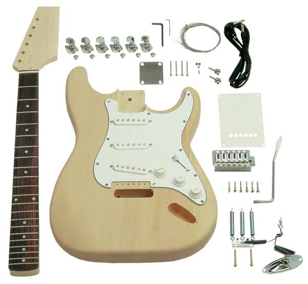 In the Maker Shed: Saga Guitar Kits