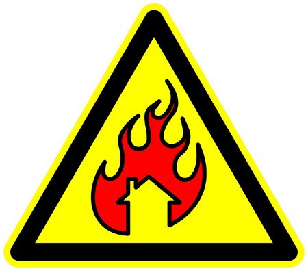 Warning:  Will Burn Your House Down