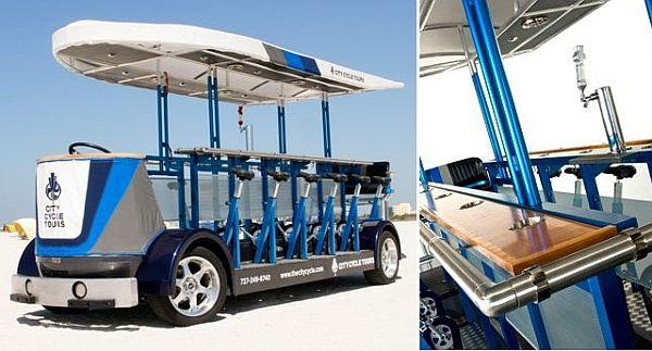 Beer Wheel Drive Vehicle
