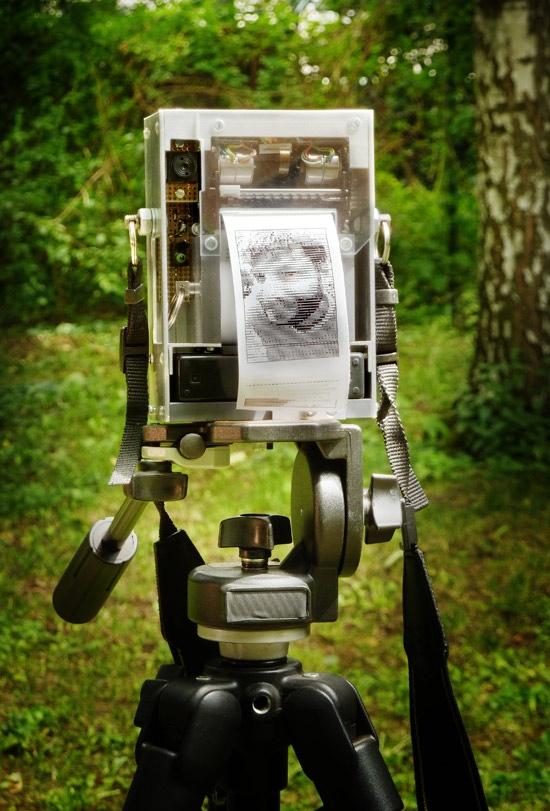 Analog Vid Cam + Thermal Printer
