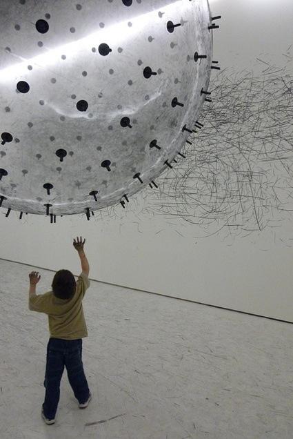 ADA, an Analog Interactive Kinetic Sculpture