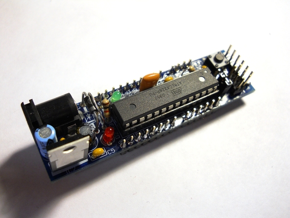 In the Maker Shed: DC Boarduino