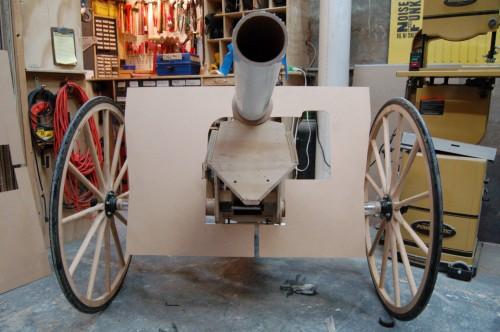 How-To:  Life-Size Replica Artillery Piece