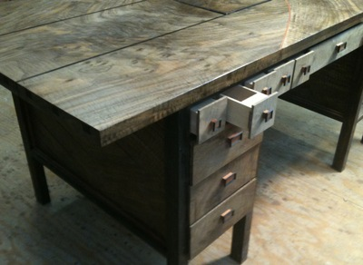 Pipe Organ Desk With Programmable Pneumatic Logic Controller, Secret Compartment