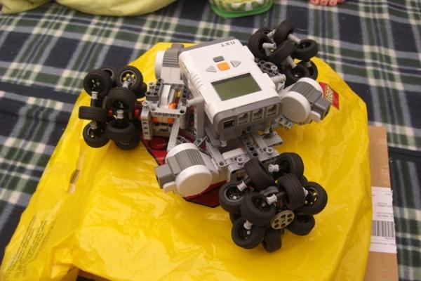 Lego Omniwheel Clusters