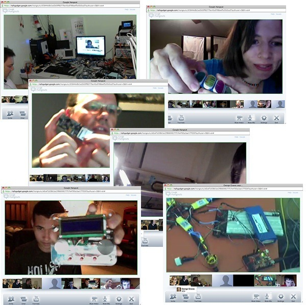 """Using Google+ Hangout Video Chat for """"Maker Show-and-Tell"""""""