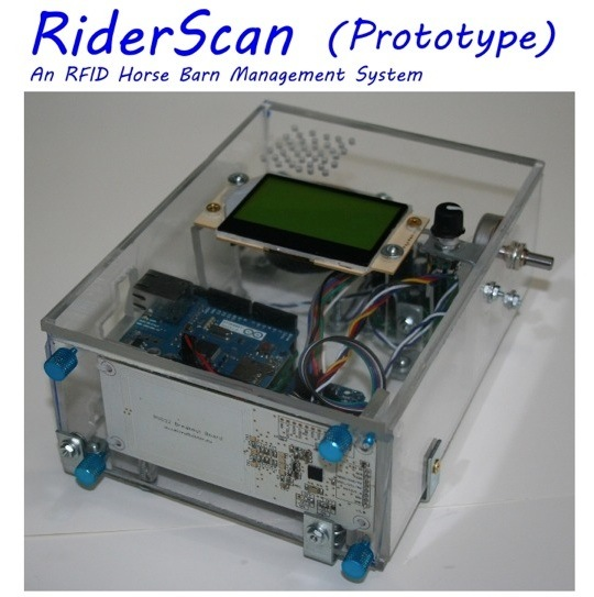 RiderScan — Manage Horses with RFID Barn Open Source Hardware Management System