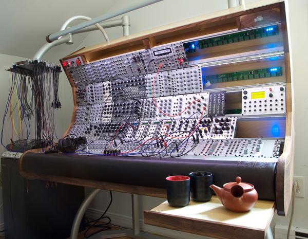 Gigantic modular synth enclosure