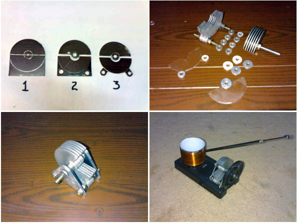 How-To:  Air-Variable Capacitor From Scrap Aluminum