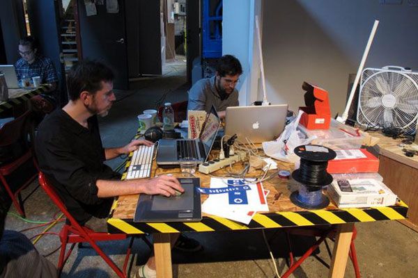 Live from Art Hack Weekend