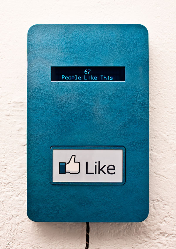 """Who Could Resist Pressing this Facebook """"Like"""" Button?"""
