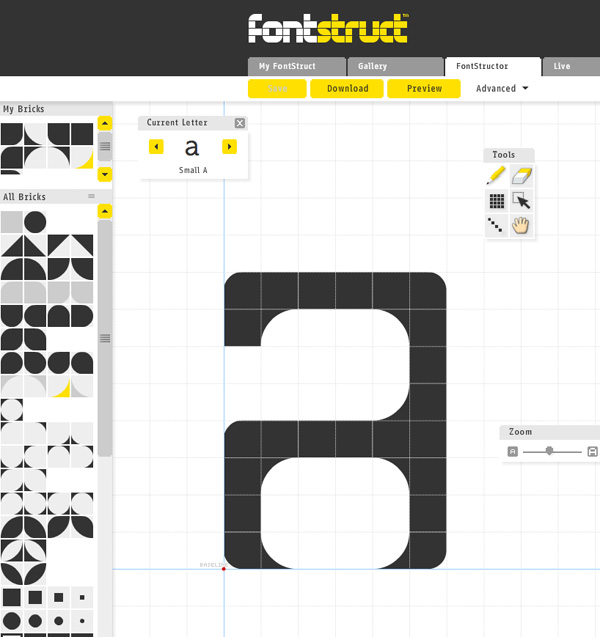 Toolbox: Design Your Own Fonts With Fontstruct