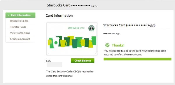 The Starbucks card with an API – an experiment in social sharing