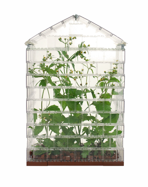 Lego Greenhouse Packs Lego Dirt and Real Plants