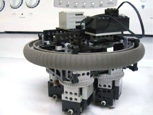 One-Motor, All-Mechanical Obstacle Avoidance