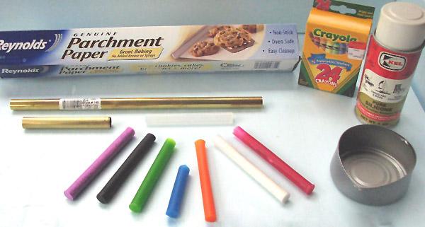 How-To:  Custom Color Hot Glue Sticks