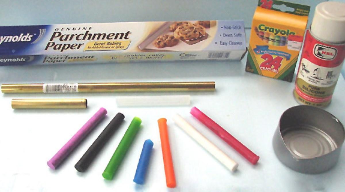 How-To: Custom Color Hot Glue Sticks | Make: