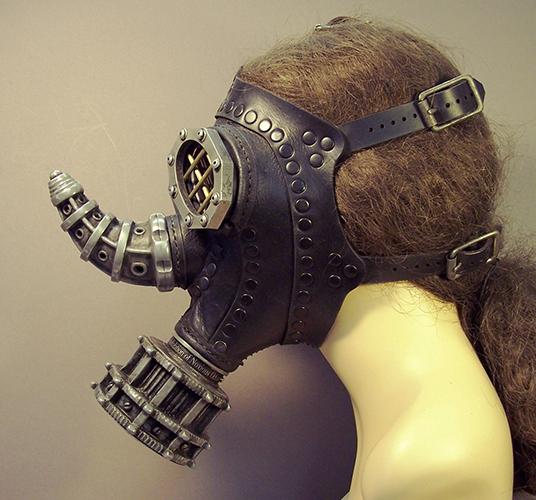 Tom Banwell's Elaborate Gas Masks